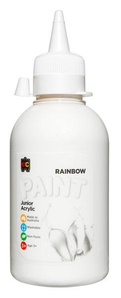 PAINT EDVAN ACRYLIC RAINBW 250ML WHITE - pr_1774057