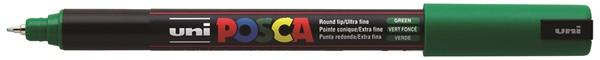 Uni Posca Marker 0.7mm Ultra-Fine Pin Tip Green -