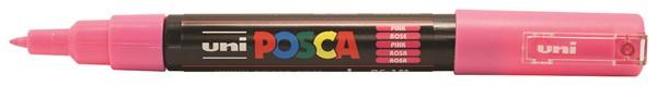 Uni Posca Marker 0.7mm Ultra-Fine Round Tip Pink -