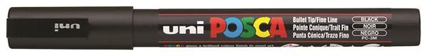 Uni Posca Marker 0.9-1.3mm Fine Black -