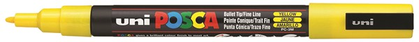 Uni Posca Marker 0.9-1.3mm Fine Yellow -
