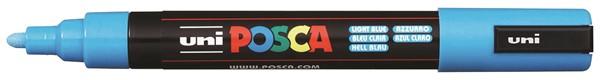 Uni Posca Marker 1.8-2.5mm Med Bullet Light Blue -