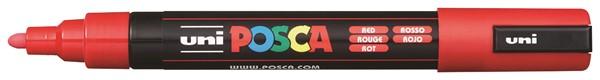 Uni Posca Marker 1.8-2.5mm Med Bullet Red -