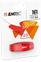 Emtec USB Flash Drive 16GB C410 Assorted Colours -