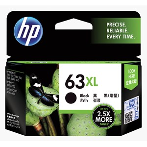 HP Ink Cartridge F6U64AA 63XL Black High Capacity