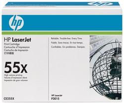 HP Toner CE255X 55X Black High Capacity -