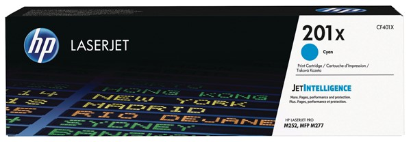 HP Toner CF401X 201X Cyan -