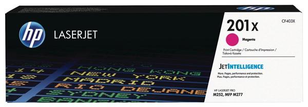 HP Toner CF403X 201X Magenta -