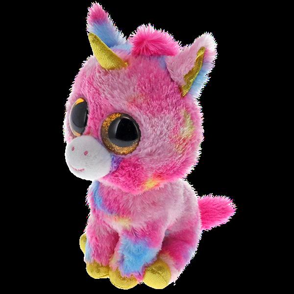 Ty Beanie Boo Fantasia Multicolour Unicorn - Regular -