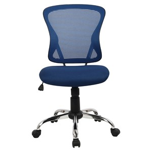Brenton Mid Back Mesh Chair Blue