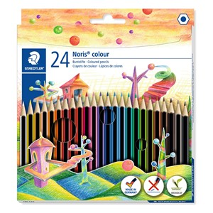Staedtler Noris WOPEX Coloured Pencil 24pk