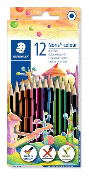Staedtler Noris WOPEX Coloured Pencil 12pk -
