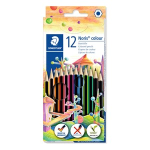 Staedtler Noris WOPEX Coloured Pencil 12pk