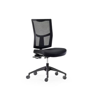 Knight Urban Mesh Chair Black