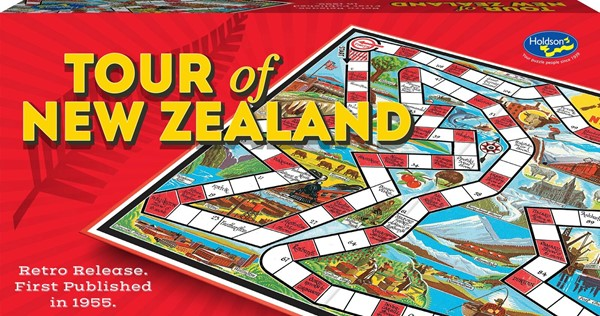 Tour of New Zealand Board Game -
