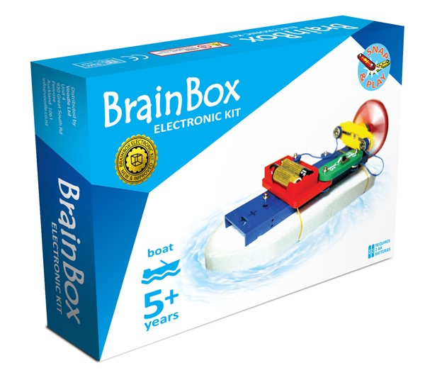 Brain Box Boat Experiment Kit -