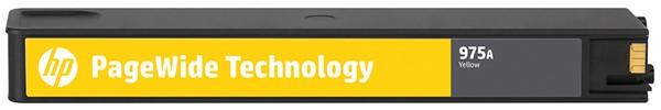 HP Ink Cartridge L0R94AA 975A Yellow -