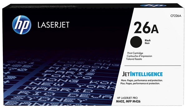 HP Toner CF226A 26A Black -