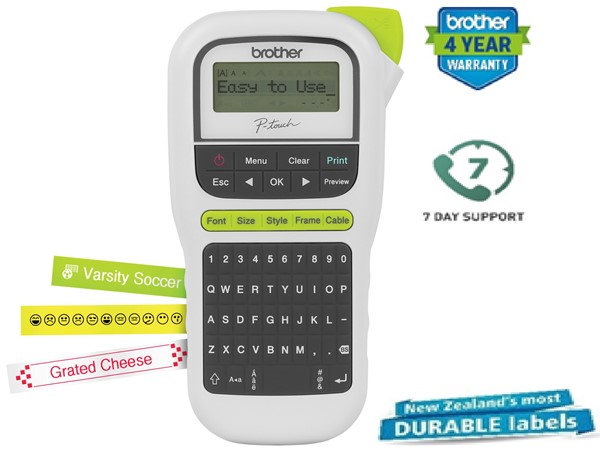 Brother Label Machine P-Touch PTH110 White -