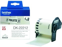 Brother DK Label Continuous Paper DK22212 62mm X 15.24m White -