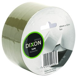 Dixon Packaging Tape Tan 48mmx50m