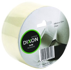 Dixon Packaging Tape Clear 48mmx50m