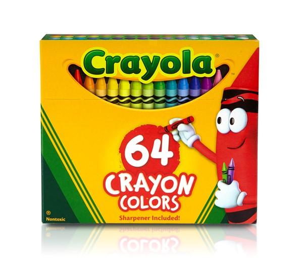 Crayola Classic Colour - 64 Crayon Pack -