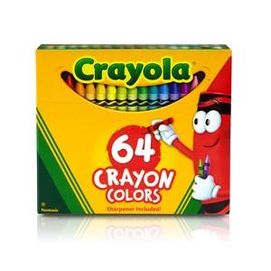 Crayola Classic Colour - 64 Crayon Pack