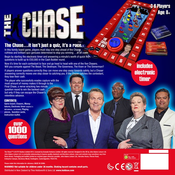 The Chase (UK Version) Game -