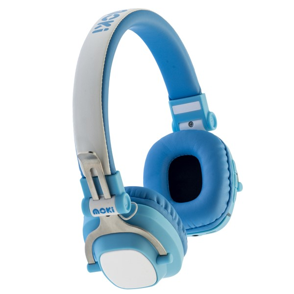 Moki Exo Kids Headphones Bluetooth Blue -