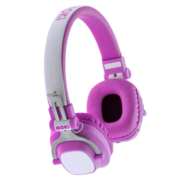 Moki Exo Kids Headphones Bluetooth Pink -