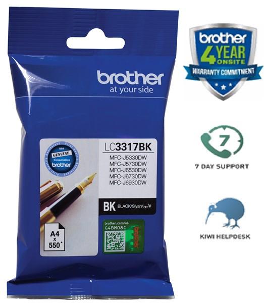 Brother Ink Cartridge LC3317BK Black -