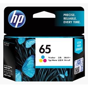 HP Ink Cartridge N9K01AA 65 Tri-Colour