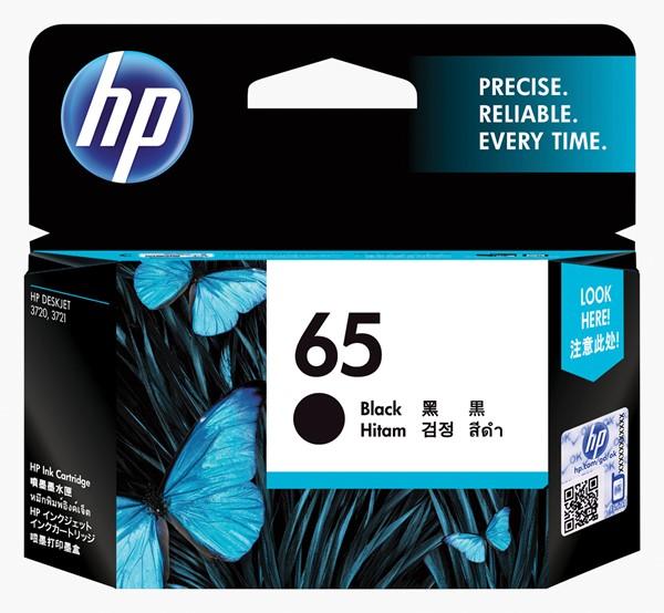 HP Ink Cartridge N9K02AA 65 Black -