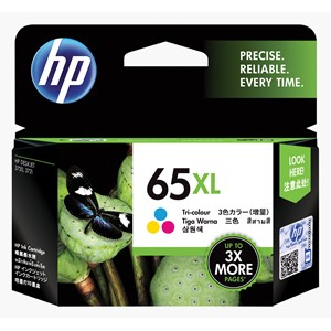 HP Ink Cartridge N9K03AA 65XL Tri-Colour High Capacity