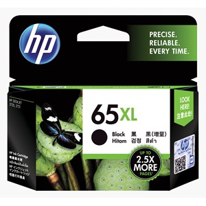 HP Ink Cartridge N9K04AA 65XL Black High Capacity