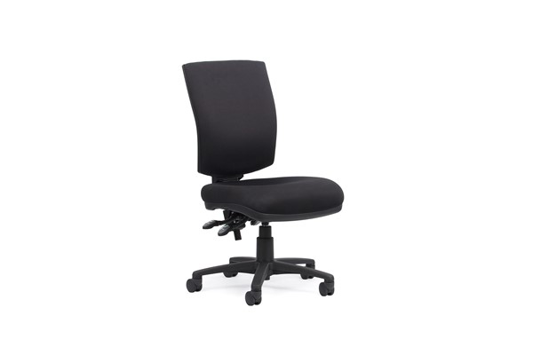 Knight Nova Highback Edge 3 Luxe Chair Black -