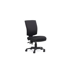 Knight Nova Highback Edge 3 Luxe Chair Black