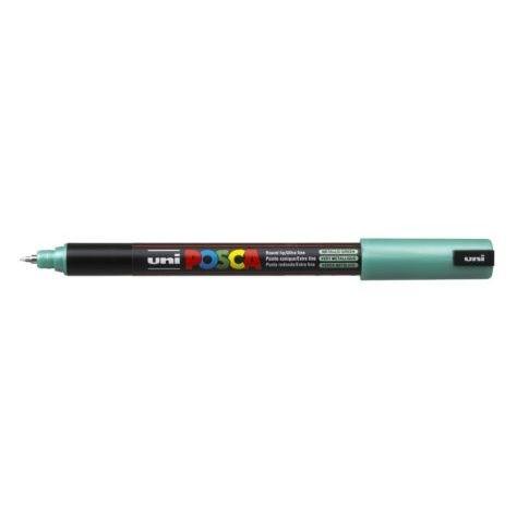 Uni Posca Marker 0.7mm Ultra-Fine Pin Tip Met Green -