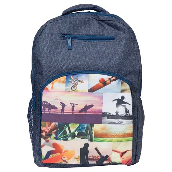 Spencil Sports Collage Backpack 450 X 370mm - pr_1844849