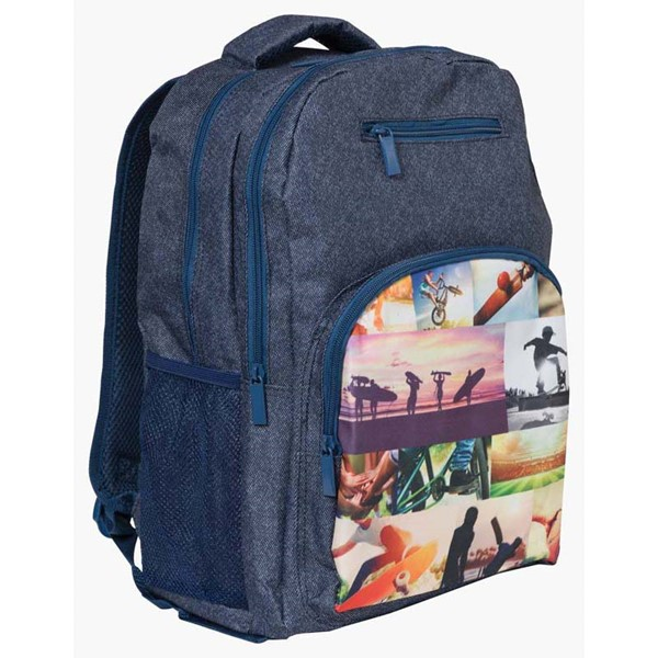 Spencil Sports Collage Backpack 450 X 370mm - pr_1844884