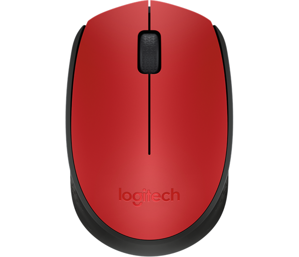 Logitech M171 Wireless Mouse Red -