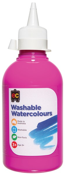 PAINT W/COLOUR EC WASHABLE 250ML PINK - pr_1774212