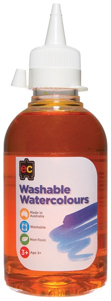 PAINT W/COLOUR EC WASHABLE 250ML YELLOW - pr_1774188