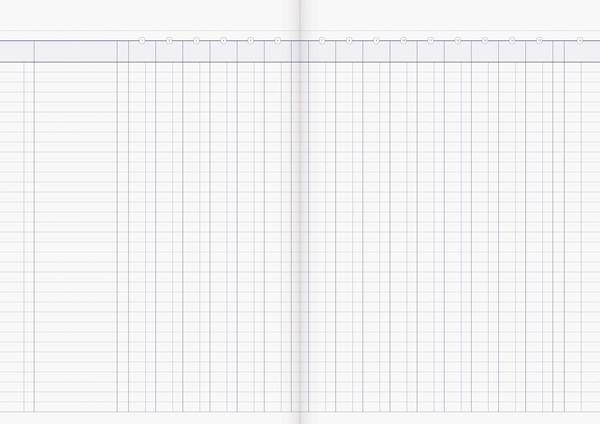 Account Book Milford Limp A4 16MC Green - pr_1773056