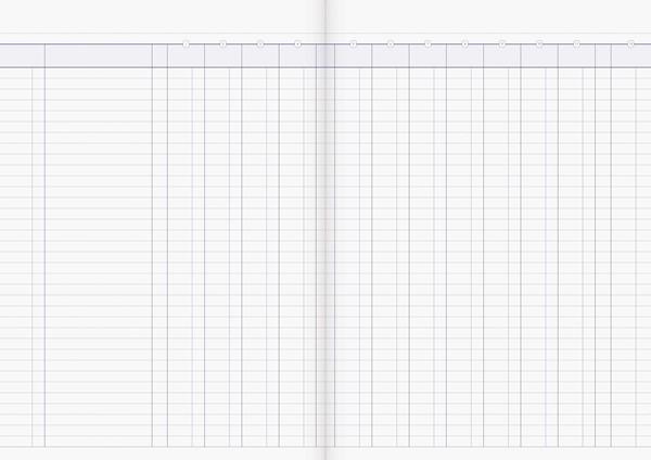 Account Book Milford Limp A4 12MC Green - pr_1773042