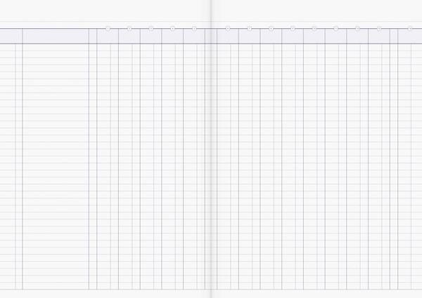 Account Book Milford Limp A4 14MC Green - pr_1773016
