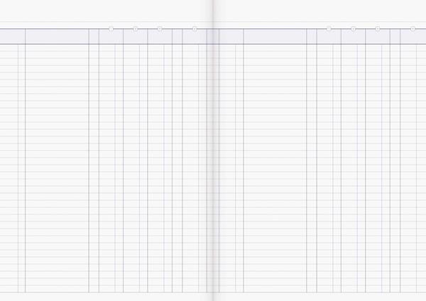 Account Book Milford Limp A4 4MC Red -