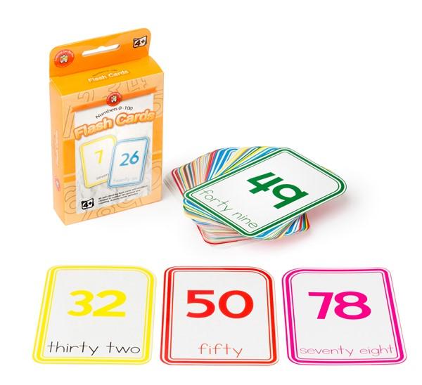 EC Flashcards Numbers 0-100 -