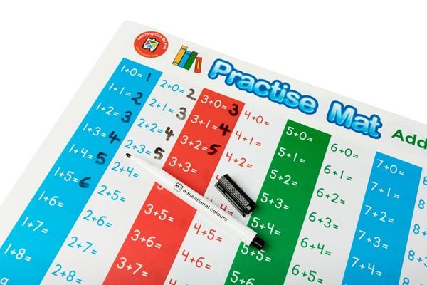 EC Practice Mats Addition -